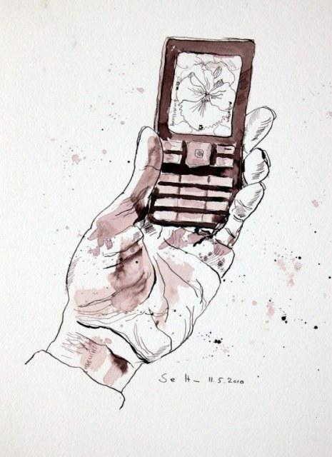Natur (c) Zeichnung von Susanne Haun