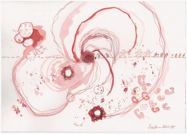 Das Jahr Null 20.11.2015 (c) Zeichnung von Susanne Haun