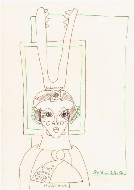 #35.1 Der Nullraum (c) Zeichnung von Susanne Haun