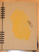 1. Schritt - Pastell Portrait (c) Zeichnung von Susanne Haun