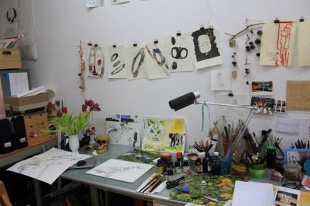 Arbeitsplatz (c) Foto von Susanne Haun