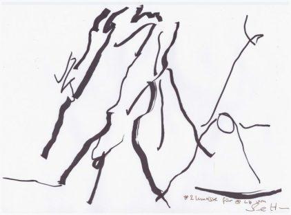 #1 Umrisse für @lz (c) Zeichnung von Susanne Haun