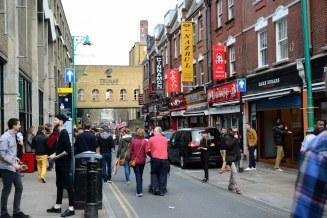 Sonntag auf der Brick Lane (c) Foto von M. Fanke