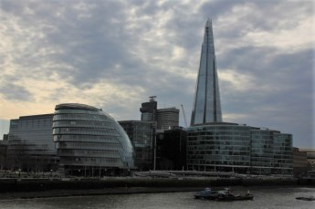 City Hall und The Shard London (c) Foto von Susanne Haun