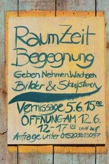 Ausstellung RaumZeitBegegnung (c) Foto von M.Fanke