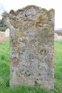 Grabstein auf dem Friedhof St Margaret's Church in Cley next the sea (C) Foto von Susanne Haun (2)