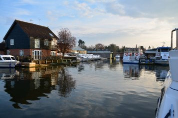 Wroxham - Dorf in Norfolk (c) Foto von M.Fanke