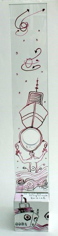 Ein Nullboot ist schlecht zu steuern (c) Objekt von Susanne Haun