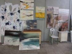 Bei Conny Niehoff im Atelier (c) Foto von Susanne Haun