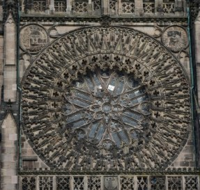 Rosette der Lorenzkirche (c) Foto von M.Fanke