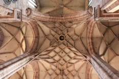 Das Fächergewölbe von St.Lorenz (c) Foto von Susanne Haun