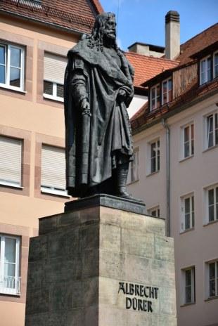Dürerdenkmal von Daniel Rauch (c) Foto von M.Fanke