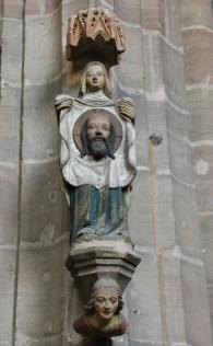 Veronika mit dem Schweisstuch in St.Lorenz (c) Foto von Susanne Haun
