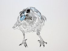 1 Sila ist die Luft, die Kraft des Denkens und der Weisheit (c) Zeichnung von Susanne Haun