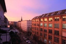 3 Blaue Stunde am Morgen in Berlin Wedding (c) Foto von Susanne Haun