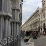 9 Acqua Alta in San Marko Venedig (c) Foto von Susanne Haun