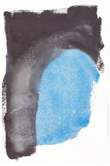 3 Schmincke Aquarellfarben Kobalt Azur und Graphitgrau (c) Zeichnung von Susanne Haun