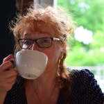 Abschliessender Kaffee in der Kleinen Mensa in Berlin Wedding (c) Foto von M.Fanke