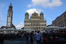 Rathausplatz Augsburg (c) Foto von M.Fanke