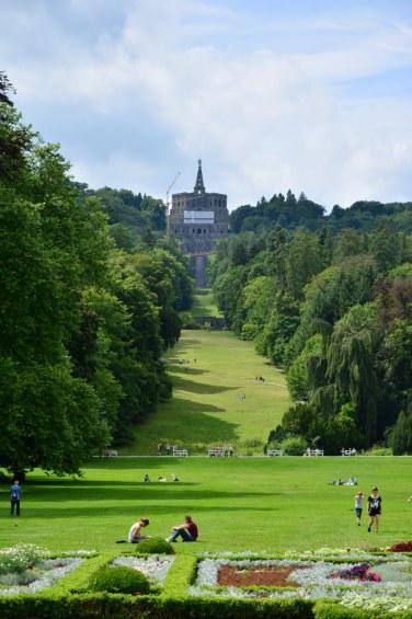 Kassel Schloss Wilhelmshöhe Blick auf den Herkules (c) Foto von M.Fanke