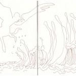 Eiswelten - Fulmur - Sturmvogel - Version 2 (c) Zeichnung von Susanne Haun