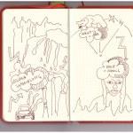 Sketchnote Arktis im Skizzenpapier (c) Susanne Haun
