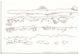 Sizilien Acquedolci (c) Zeichnung von Susanne Haun