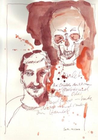 Tagebuch Z 2007 03 17 - 15 x 20 cm (c) Zeichnung von Susanne Haun