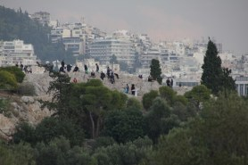Athen Auf dem Filopappou - Sicht auf den Affenfelsten ;-) (c) Foto von Susanne Haun