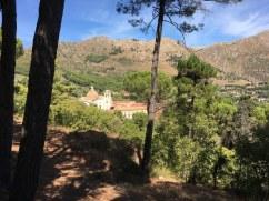 Blick auf Abtei von San Martino della Scala (c) Foto von Susanne Haun