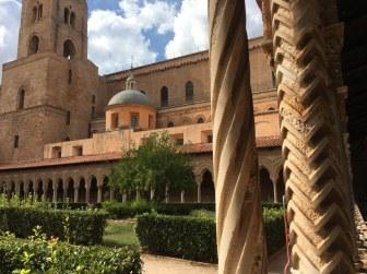 Klostergang von Monreale (c) Foto von Susanne Haun