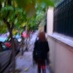 Susanne in Athen (c) Foto von M.Fanke