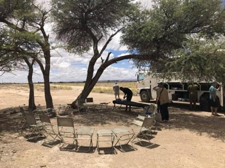 Anfahrt auf die Namib Wüste - Namibia (c) Foto von Susanne Haun