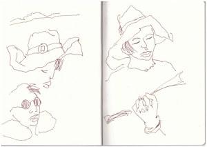 Annie (c) Zeichnung von Susanne Haun