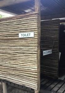 Toiletten im Okavango Delta Botswana - Zeltdorf (c) Foto von Susanne Haun