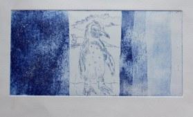 Fertige Druckprobe der Aquatinta (c) Foto von Susanne Haun