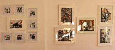 3 KunstSalon bei Susanne Haun , die die Arbeiten von Rosie Geisler (c) Foto von M.Fanke