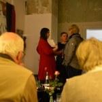 Café Motte, Impressionen Ausstellungseröffnung Querbrüche Obdachlos, Susanne Haun, Gabriele D.R. Guenther © Foto von M.Fanke