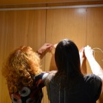Schiller Bibliothek, Ausstellung Querbrüche Obdachlos, Susanne Haun Meike Lander © Foto von M.FankeSchiller Bibliothek, Ausstellung Querbrüche Obdachlos, Susanne Haun Meike Lander © Foto von M.Fanke