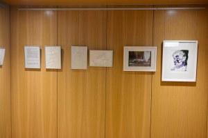 r Bibliothek, Ausstellung Querbrüche Obdachlos, Susanne Haun © Foto von M.Fanke