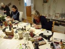 Weihnacht - Workshop im Atelier Susanne Haun