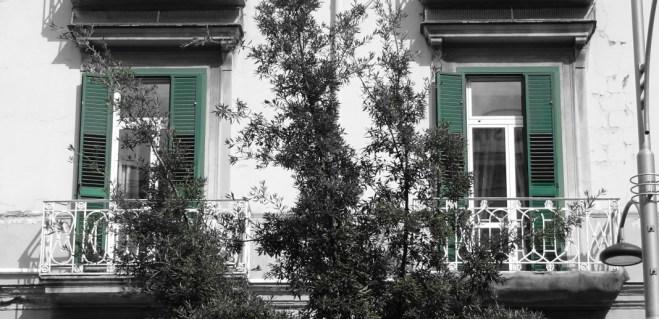 Neapel - Bosco di Capodimonte und Weg dorthin, Foto von Susanne Haun (c) VG Bild-Kunst, Bonn 2019