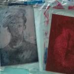 Zinkplatten Portraits, in der Aquatinta Technik geätzt, Foto und Radierung von Susanne Haun (c) VG Bild-Kunst, Bonn 2020