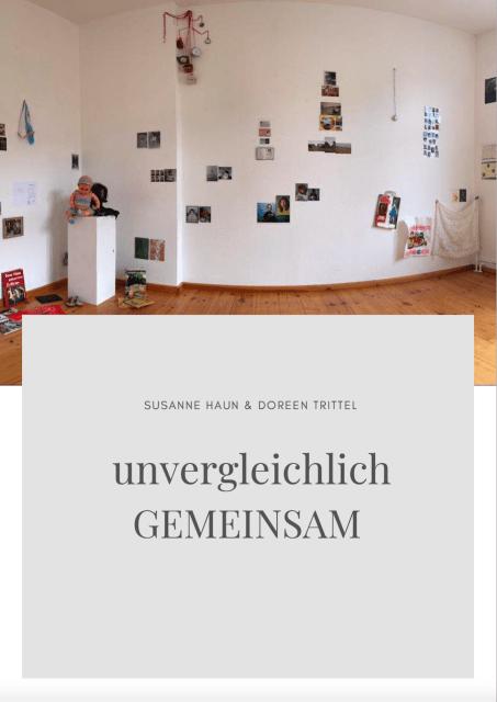 unvergleichlich GEMEINSAM 30 Jahre Deutsche Einheit (c) Ein Projekt von Doreen Trittel und Susanne Haun