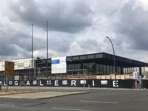 Baustelle Neue Nationalgalerie, Foto von Susanne Haun (c) VG Bild-Kunst, Bonn 2020