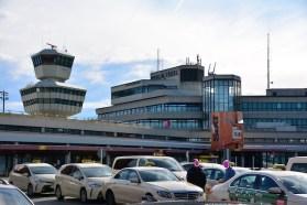 Impressionen von der Besucherterasse Flughafen Berlin Tegel (c) Foto von Michael Fanke