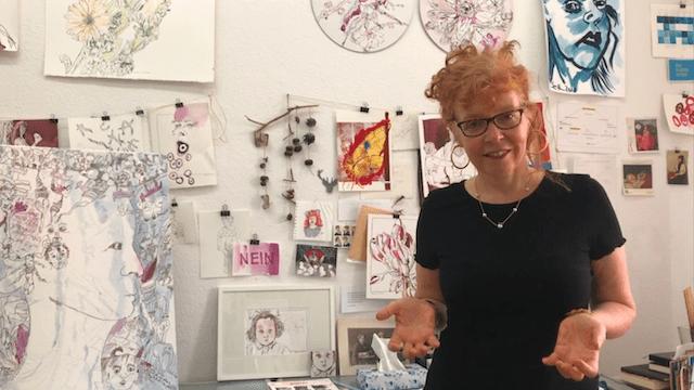 Susanne-Haun-in-ihrem-Atelier-in-Berlin-Mitte-c-Foto-von-M.Fanke_