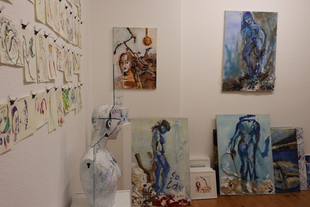 Atelieransicht Susanne Haun (c) VG Bild-Kunst, Bonn 2021
