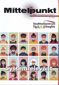 Cover des Magazins (c) des Stadtteilzentrums Steglitz e.V.