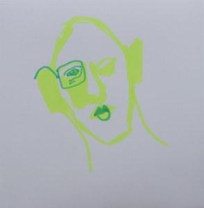 2021 03 23 Durch die Brille, 15 x 15 cm, Zeichnung von Susanne Haun (c) VG Bild-Kunst, Bonn 2021